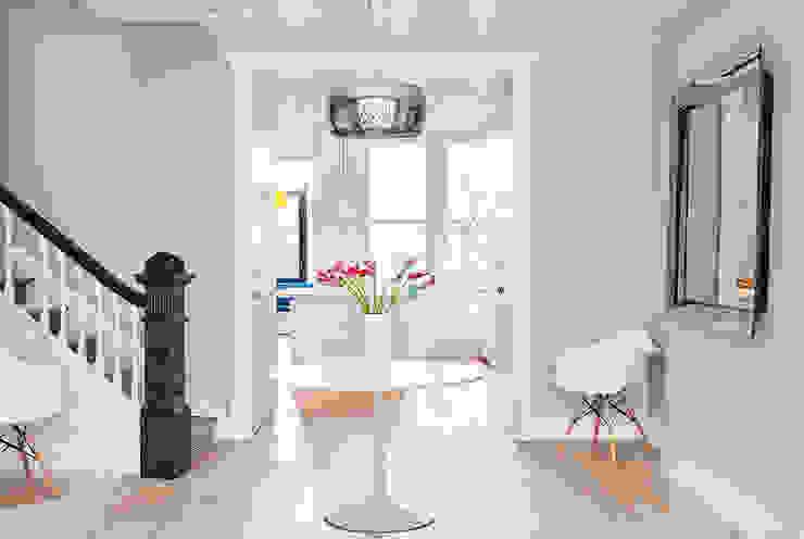 Park Slope Townhouse Modern Dining Room by Sarah Jefferys Design Modern