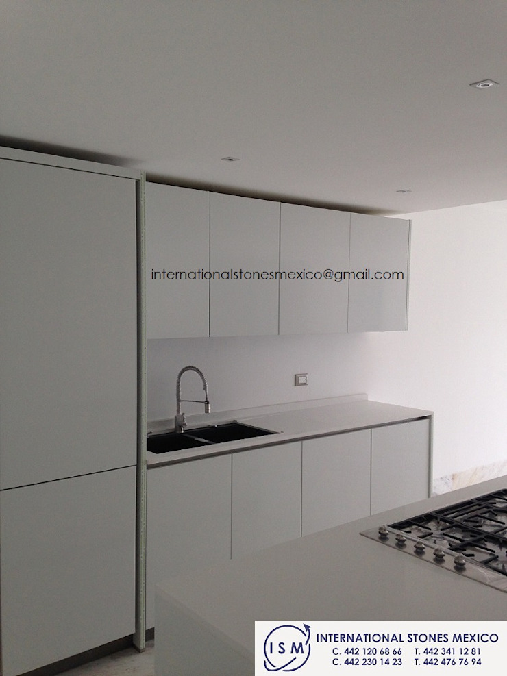 International Stones México KitchenBench tops Quartz White