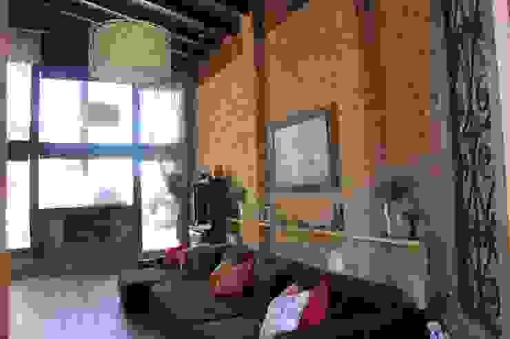 Salas / recibidores de estilo  por Barros e Zanolini Arquitetura e construção,