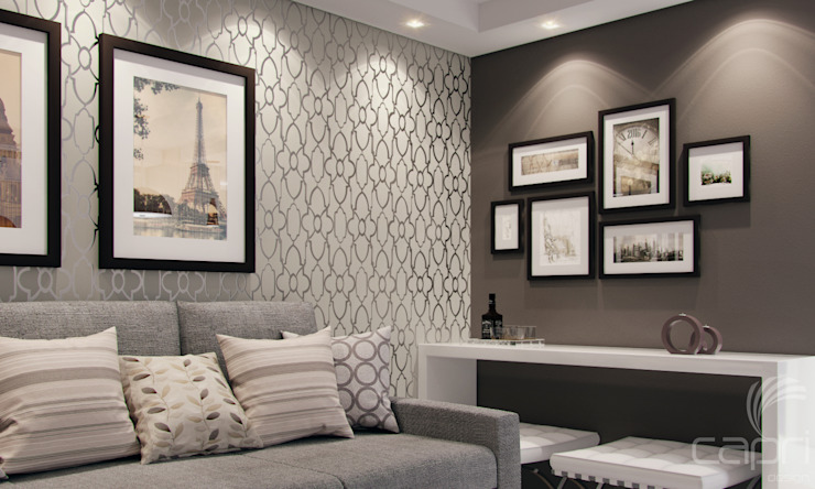 Sala de estar Salas de jantar clássicas por Lúcia Vale Interiores Clássico