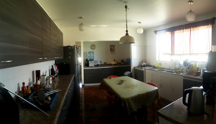 カントリーデザインの キッチン の Toledo estudio Arquitectos カントリー