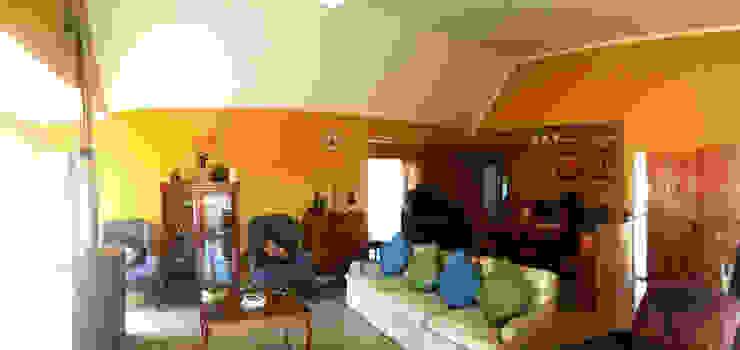 Casa Diaz, Talagante. Livings de estilo de Toledo estudio Arquitectos Rural