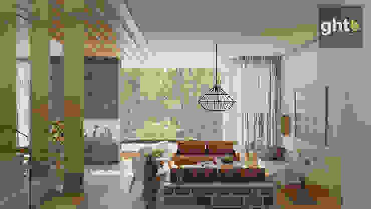 Salas modernas de GHT EcoArquitectos Moderno