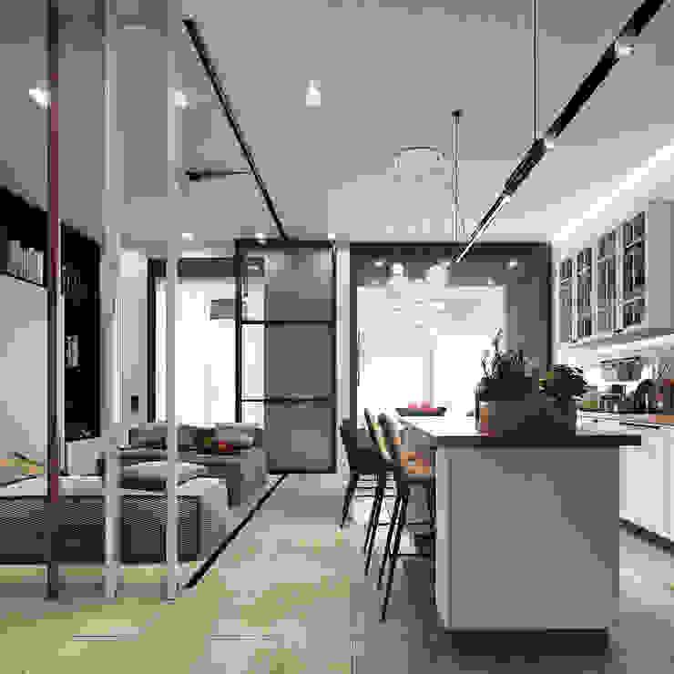 Entalcev Konstantin Minimalist living room