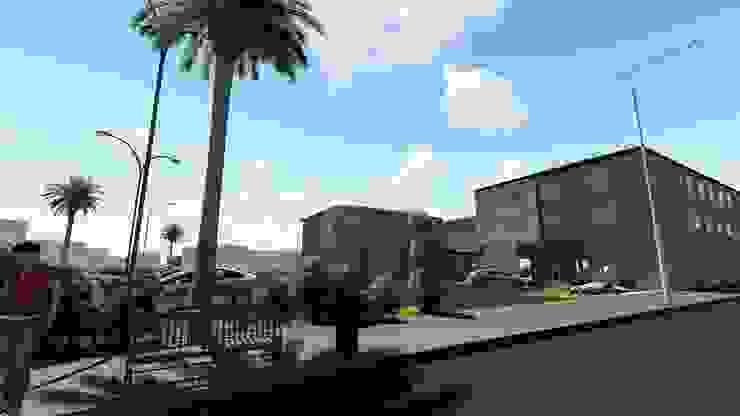Hotel Rode way Inn de CA ARQUITECTOS