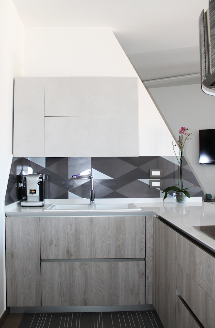 Modern style kitchen by Arch. Rosalba Di Maio Modern