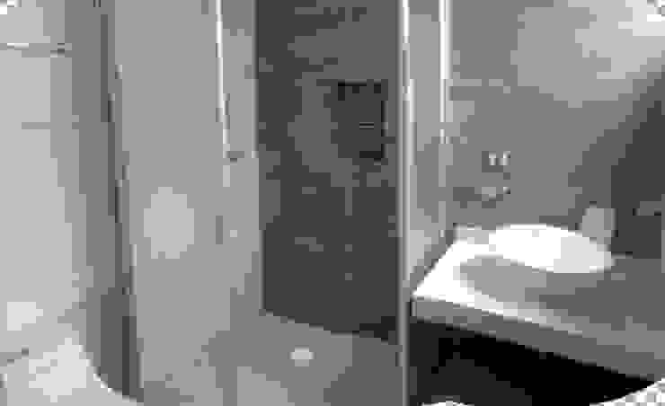 ESCALERAS Y BAÑOS Baños modernos de Diseño Aplicado Avanzado de Guadalajara Moderno