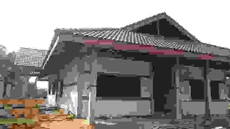 งานก่อสร้างบ้านพักชั้นเดียว โดย PassionHouse