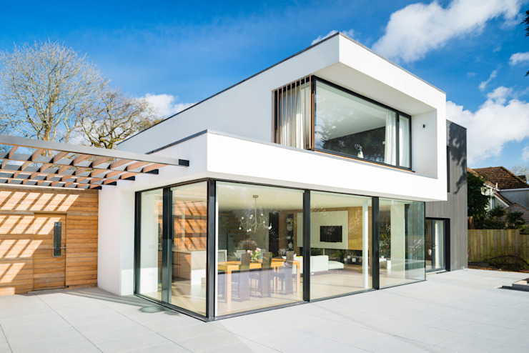 White Oaks Exterior من Barc Architects حداثي