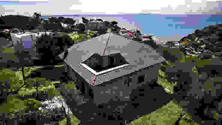 B&B Rivestimenti Naturali Classic style houses Slate Grey