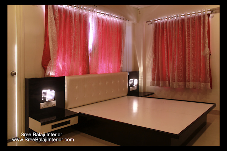 Interior of Residence Modern style bedroom by Sree Balaji Interior Modern