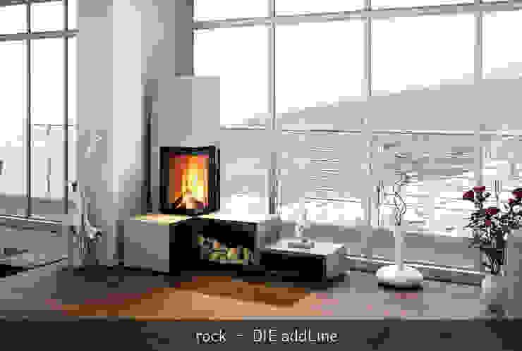 rock_addLine - DIE INDIVIDUELLEN FEUERMÖBEL CB stone-tec GmbH Moderne Wohnzimmer Stein Weiß