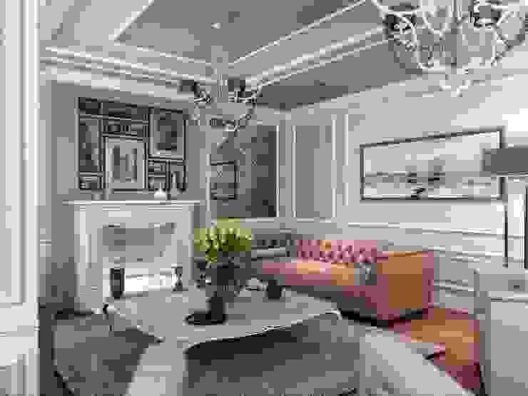 Salas / recibidores de estilo  por VERO CONCEPT MİMARLIK, Moderno