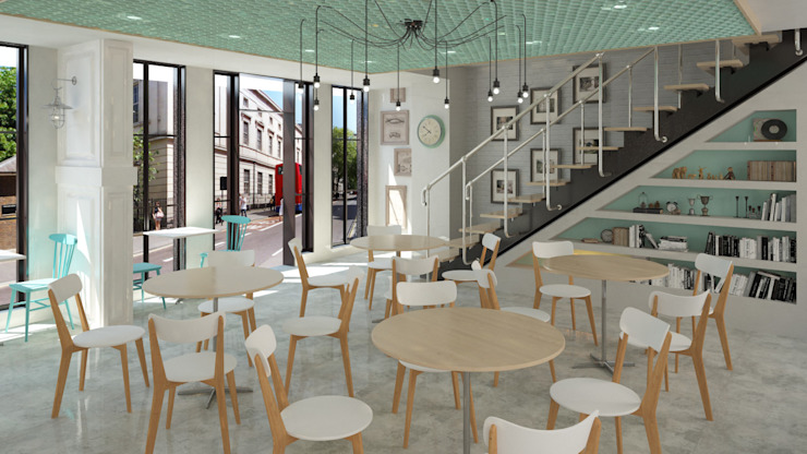 CAFE | ANKARA Meteor Mimarlık & Tasarım Minimalist