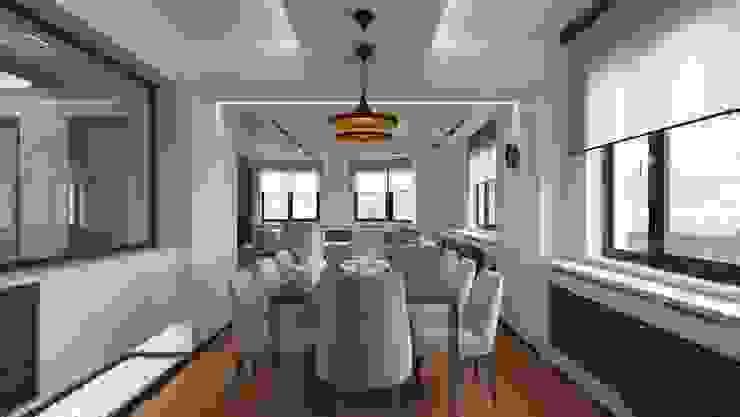 RESIDENCE Modern Yemek Odası Meteor Mimarlık & Tasarım Modern