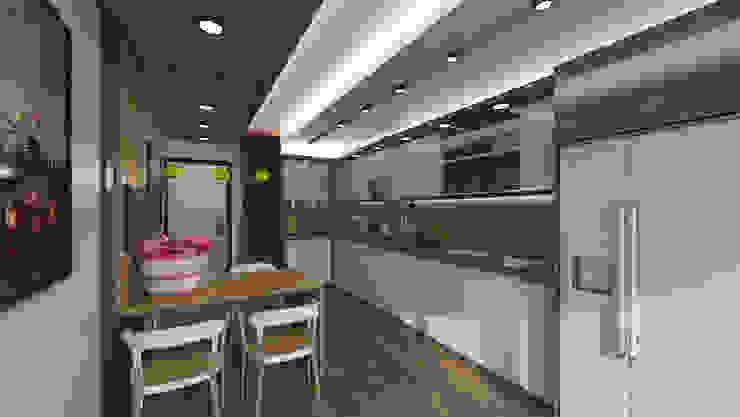 RESIDENCE Modern Mutfak Meteor Mimarlık & Tasarım Modern