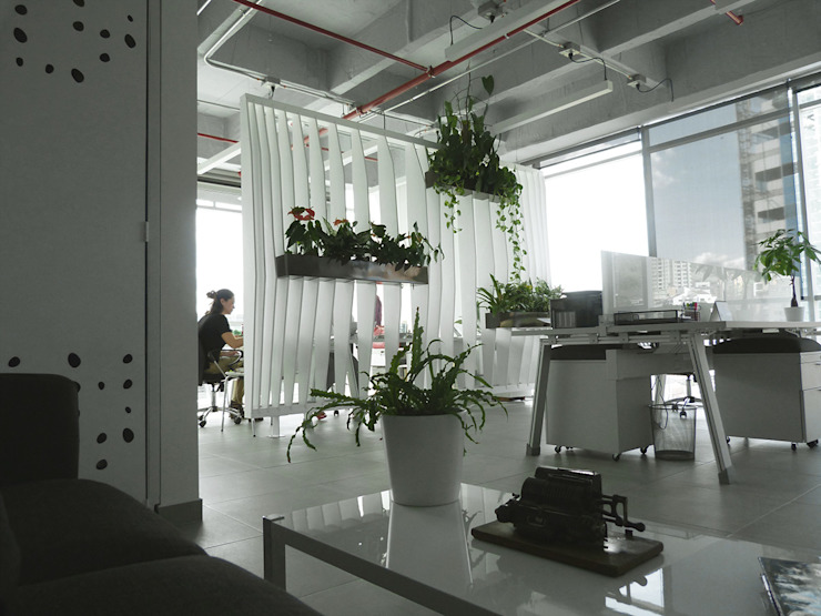 Oficinas Easy Legal de interior137 arquitectos Moderno Metal