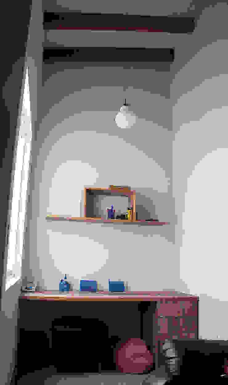 Rustic style bedroom by malu goni Rustic