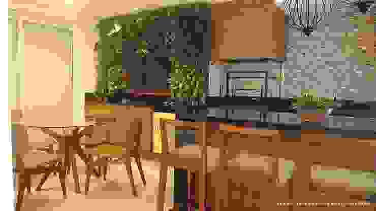 Modern Terrace by Angelica Hoffmann Arquitetura e Interiores Modern