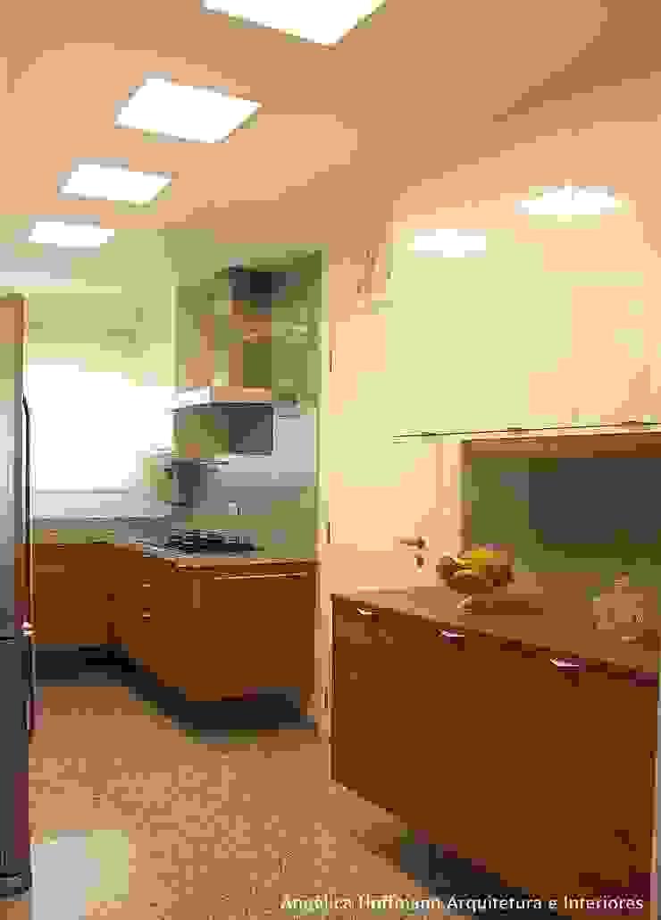 Dapur Modern Oleh Angelica Hoffmann Arquitetura e Interiores Modern