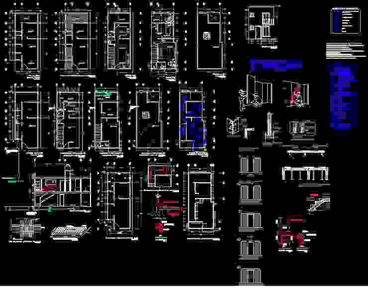 Casas modernas por ProyectaIngenieriaMX Moderno