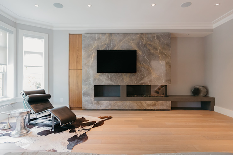 BEDFORD RESIDENCE Modern living room by FLUID LIVING STUDIO Modern