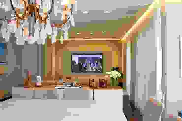 Angelica Hoffmann Arquitetura e Interiores Sala da pranzo moderna