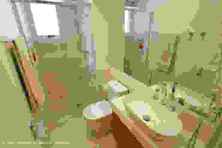 Angelica Hoffmann Arquitetura e Interiores Ванная комната в стиле модерн