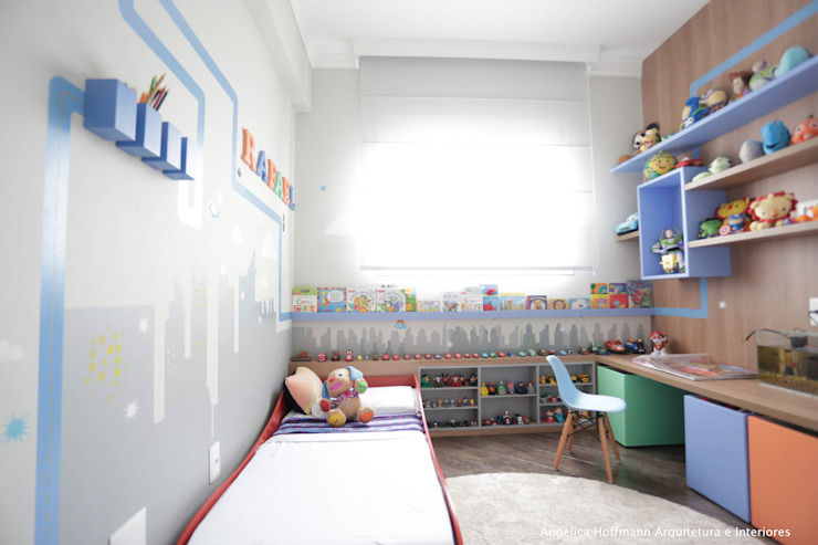 Angelica Hoffmann Arquitetura e Interiores Kamar Bayi/Anak Modern