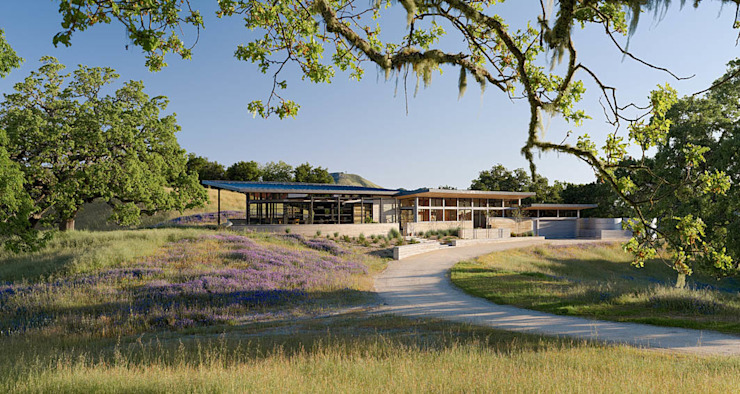 Caterpillar House Modern Houses by Feldman Architecture Modern