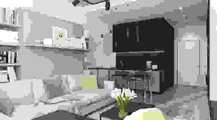 Minimalist kitchen by Elena Potemkina Minimalist