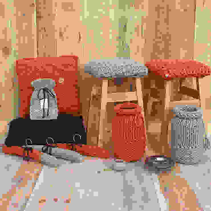Inspiracja pomarańczowo – miętowo – brązowa trzy manufaktury GarderobaAkcesoria i dekoracje Pomarańczowy