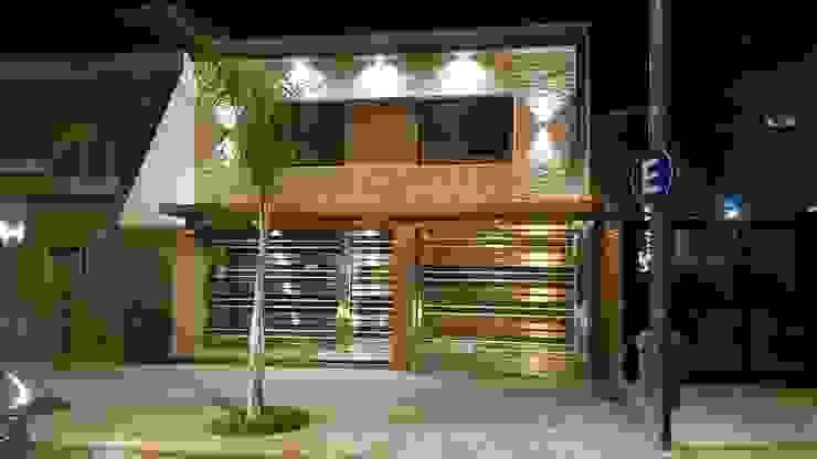 Casas de estilo  por Arquitecto Oscar Alvarez, Moderno