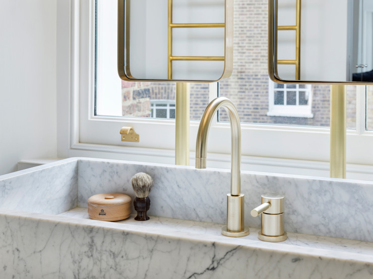 Islington House Eclectic style bathrooms by Gundry & Ducker Architecture Eclectic