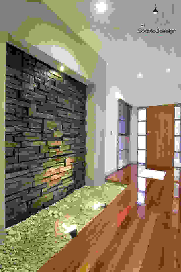 Acabados Paredes y pisos de estilo moderno de Spazio3Design Moderno