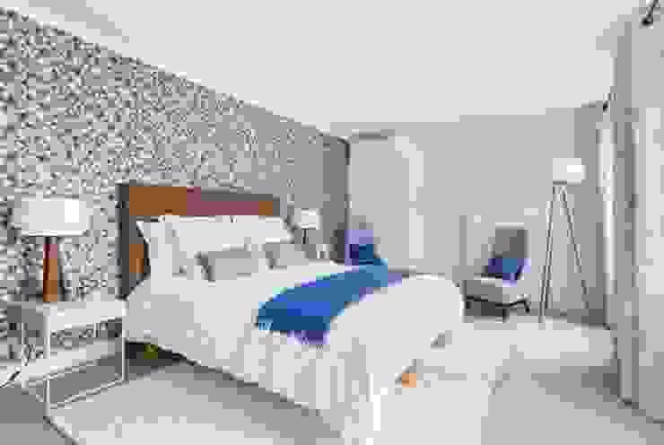 Pied à terre parisien entièrement re-décoré Catherine Plumet Interiors Chambre moderne