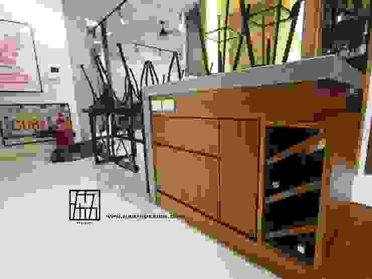 餐廳吧台 根據 協億室內設計有限公司 工業風