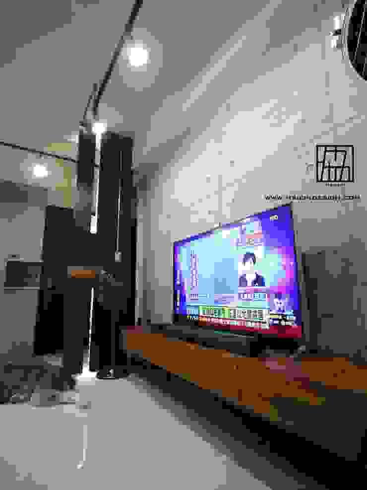 電視牆 根據 協億室內設計有限公司 工業風
