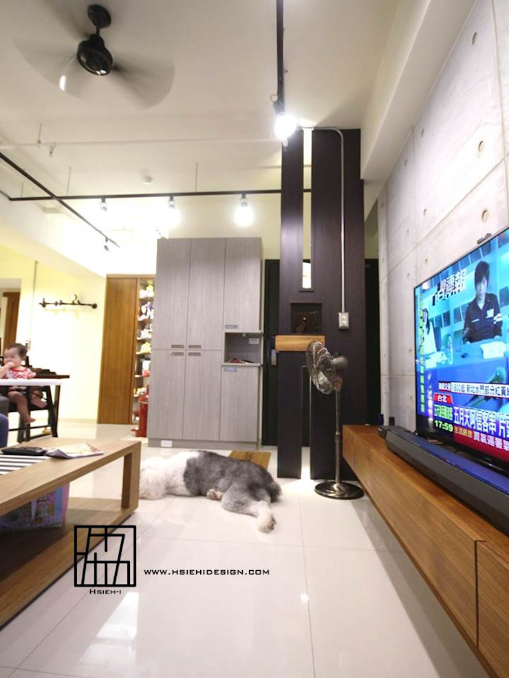 客廳 根據 協億室內設計有限公司 工業風