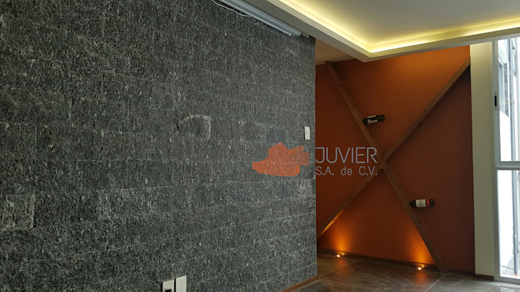 Modern walls & floors by Juvier SA de CV Modern Quartz