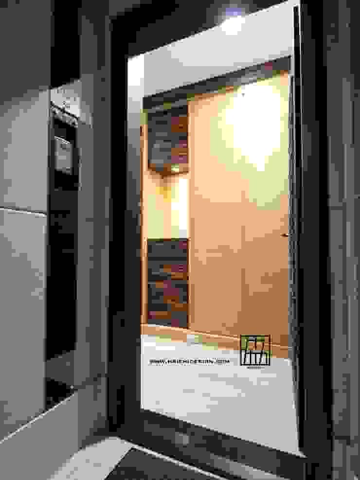 入口玄關 亞洲風玄關、階梯與走廊 根據 協億室內設計有限公司 日式風、東方風