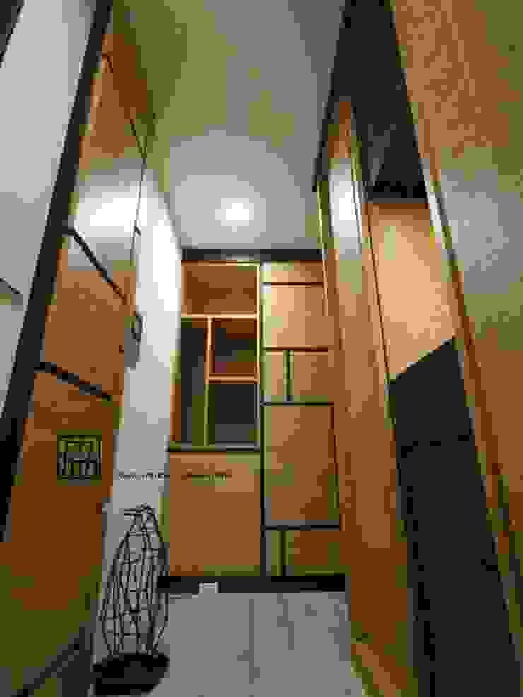 玄關 亞洲風玄關、階梯與走廊 根據 協億室內設計有限公司 日式風、東方風