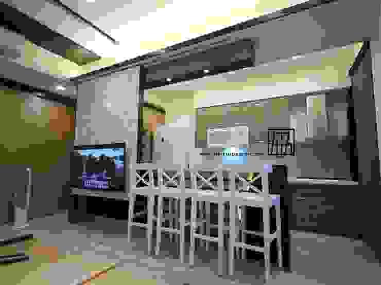 開放式廚房 根據 協億室內設計有限公司 日式風、東方風