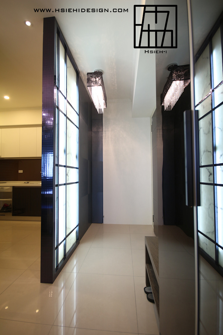 玄關 現代風玄關、走廊與階梯 根據 協億室內設計有限公司 現代風