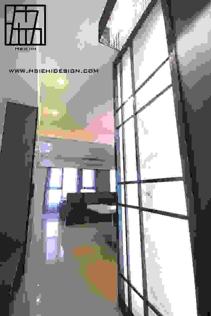 玄關隔屏設計 現代風玄關、走廊與階梯 根據 協億室內設計有限公司 現代風