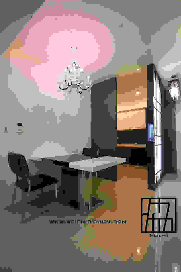 廚房與餐廳 根據 協億室內設計有限公司 現代風