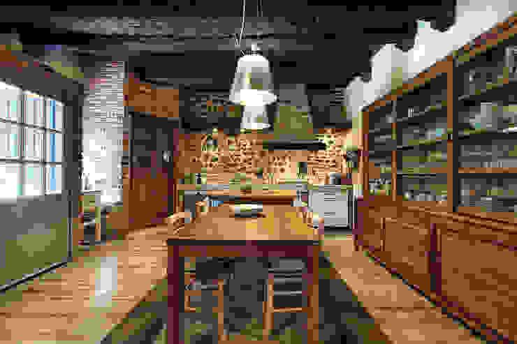 Portfolio Stefano Pedroni Cucina in stile rustico