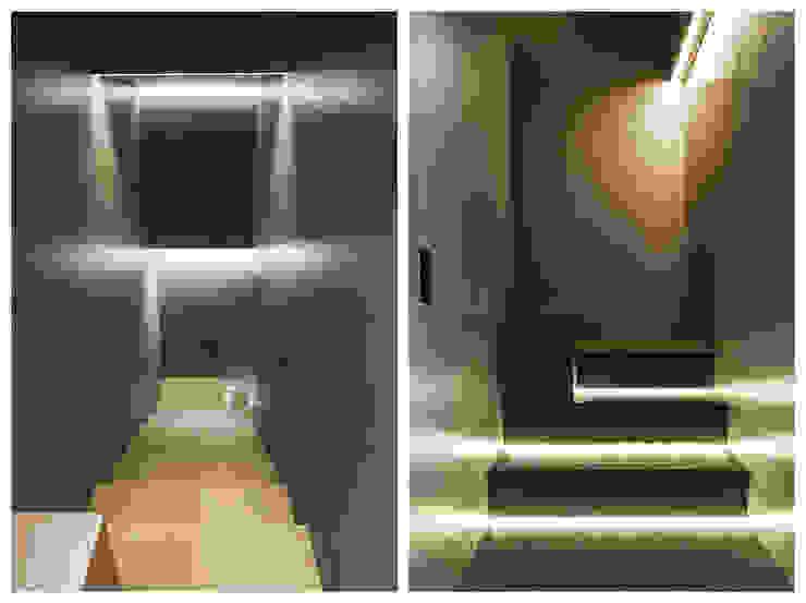 Portfolio Stefano Pedroni Ingresso, Corridoio & Scale in stile industriale