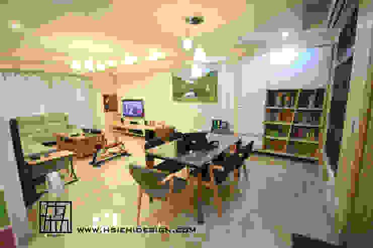客廳與餐廳 根據 協億室內設計有限公司 北歐風