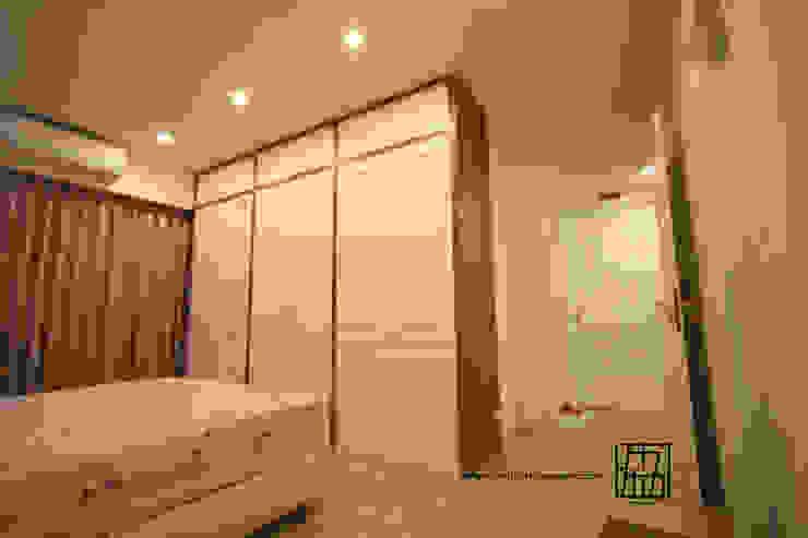 Camera da letto in stile  di 協億室內設計有限公司, Scandinavo